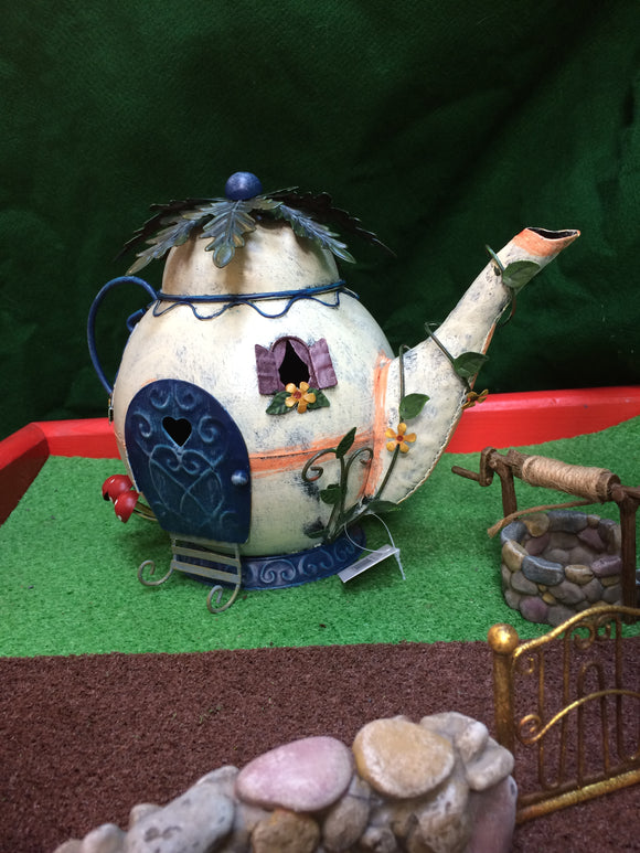 Tubby teapot fairy home