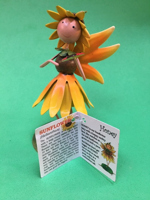 Sunflower fairy figure