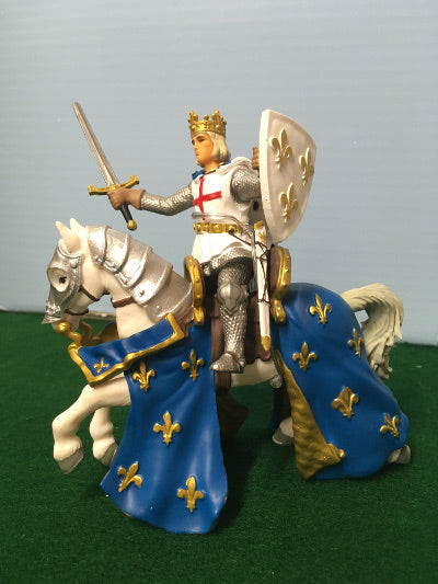 Knight on horseback PVC figures