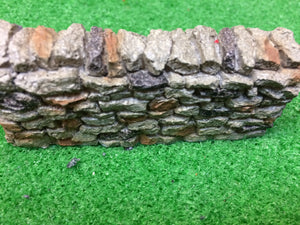 Miniature stone wall