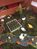 Fairy vegetable garden