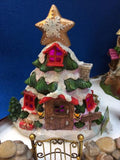 Christmas fairy tree house