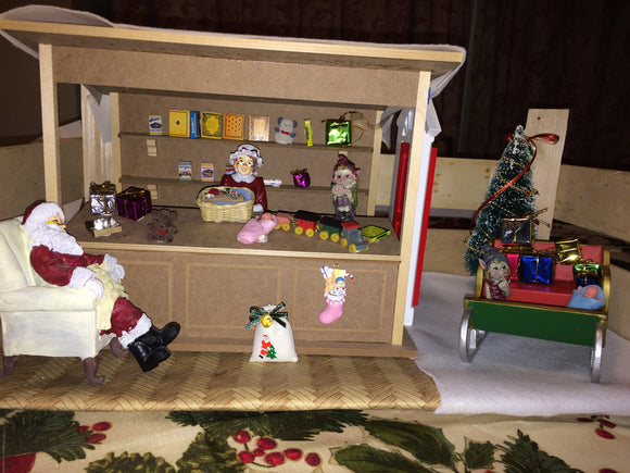 Santa's mini workshop build your own set