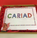 Cariad card gift set