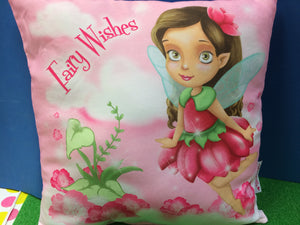 Fairy wishes cushion