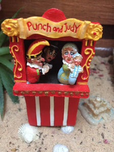 Fairy punch and judy show