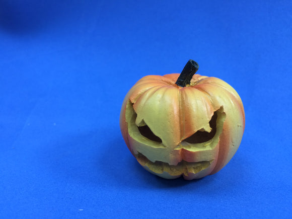 Mini Jack-o-lantern fairy-carved
