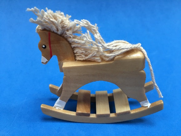 Miniature rocking horse