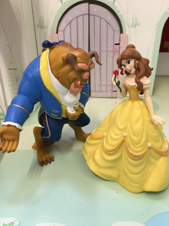 Beauty and the beast figures