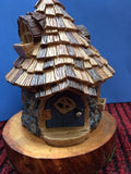 Cone top fairy house