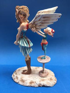 Fairy earns her wings