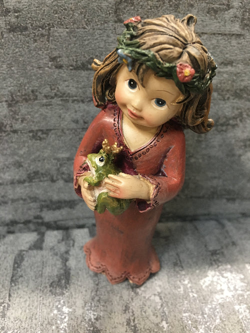 fairy with frog