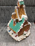 Gingerbread fairy house back