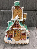 Light up ginger bread house