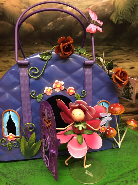 Handbag fairy house