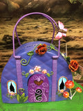 Fairy house handbag door closed