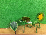 Leaf wheelbarrow, table and chair set