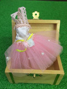 Mini chest and fairy-sized tutu