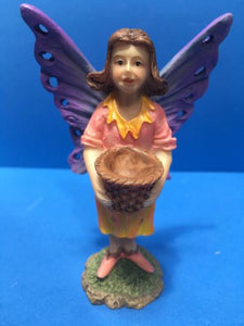 Fairy figure purple and pink