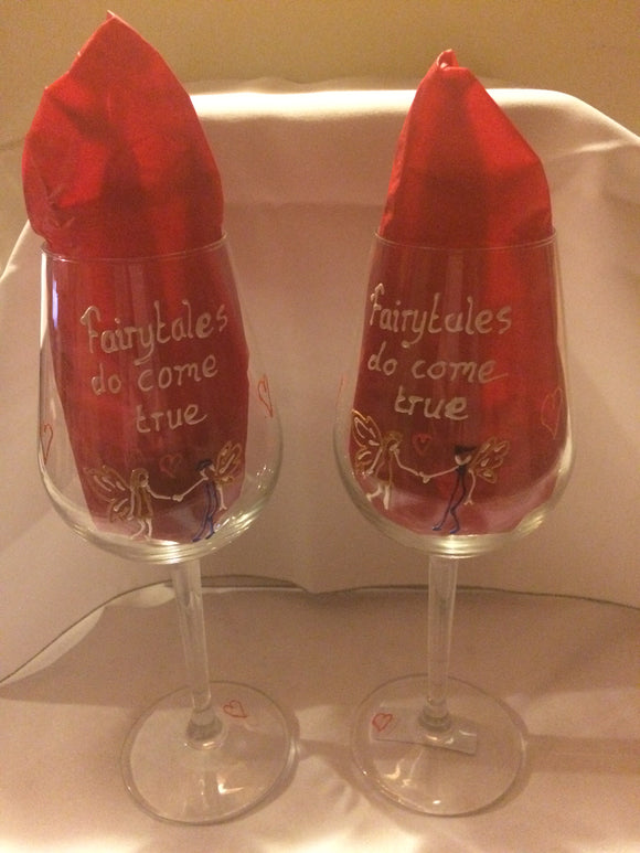 Pair of fairy glasses for special occasions