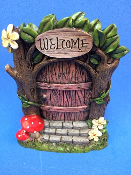 Forest pink fairy door