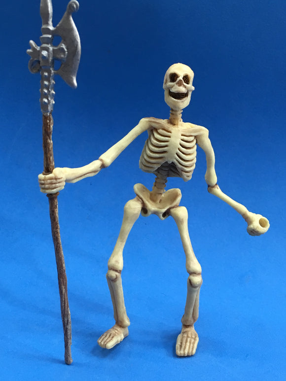 Plastic skeleton figure