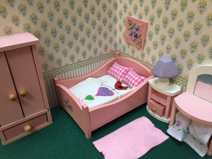 Dolls house bedroom
