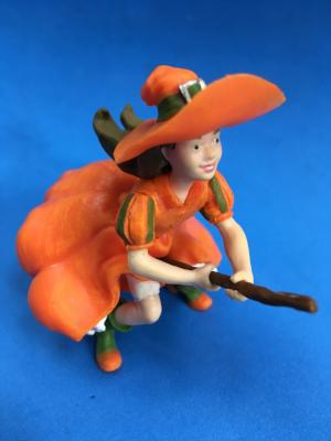 miniature plastic witch