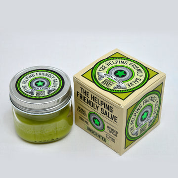The Helping Friendly Salve Unscented  - 200mg - Herbal Extract Topical
