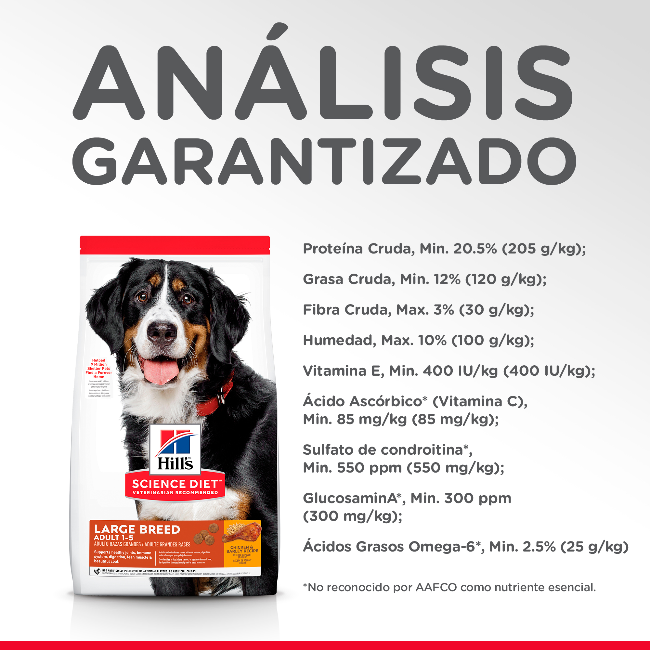 Hills Adulto Razas Grandes 15.9 Kg - Alimento Perro Large Breed Science Diet