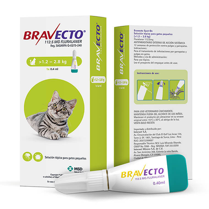 Bravecto Spot On Cat – MSD Salud Animal