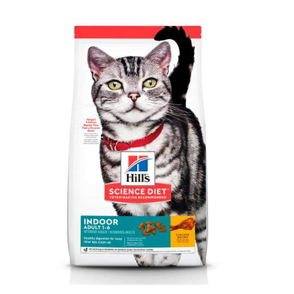 Hills Feline Adulto Indoor - Alimento para Gato Science Diet