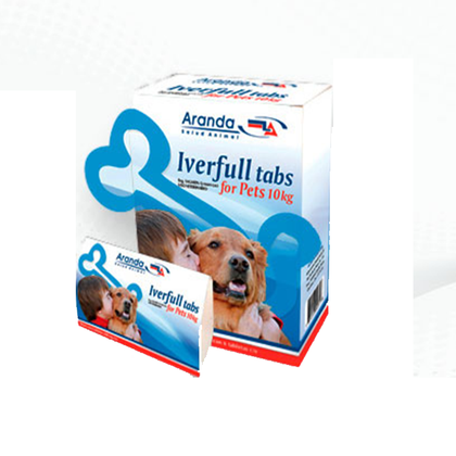 Iverfull For Pets 10 kg con 6 Tabletas - Aranda