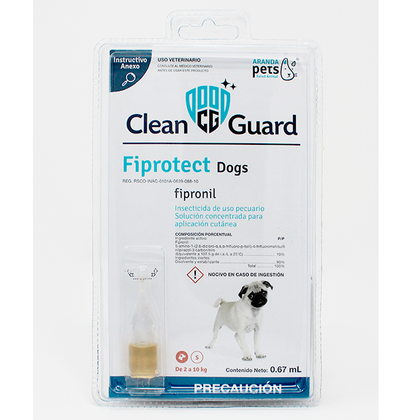 Pipeta Clean Guard Dog - Aranda