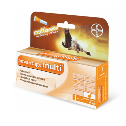 Advantage Multi Gato - Antipulgas Parasitos Sarna