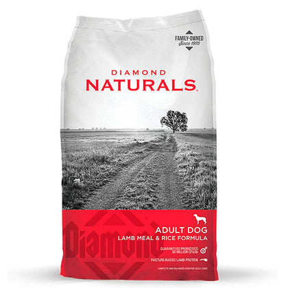Diamond Naturals Cordero Adulto - Lamb Meal & Rice Alimento para Perro