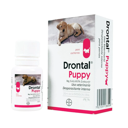 Bayer Drontal Puppy - Desparasitante para Cachorro Bayer