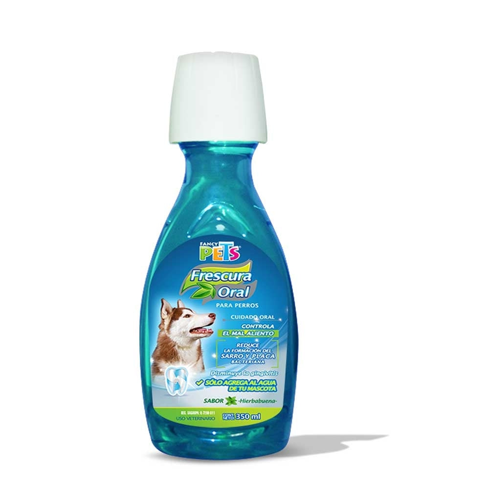 Enjuague Bucal Para Perros Fancy Pets 350 Ml