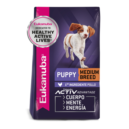 Eukanuba Puppy Medium Breed - Cachorro Raza Mediana