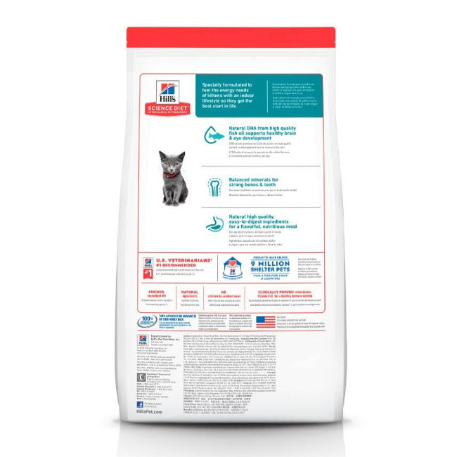 Hills Kitten Indoor - Alimento para Gatito Cachorro Science Diet