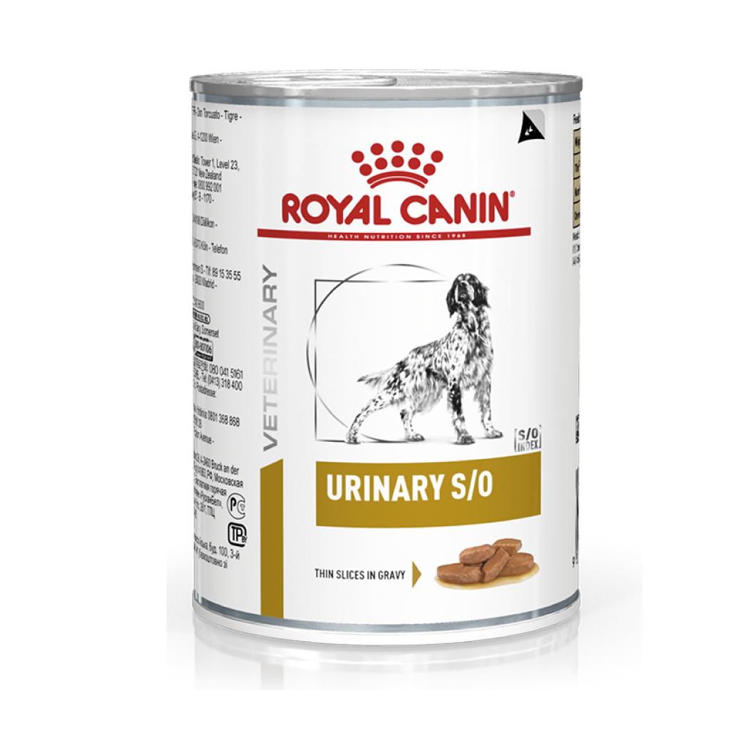 Lata Royal Canin Urinary SO 385 g - Alimento Húmedo