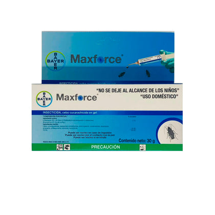Max Force Gel Bayer -  30 Gr Mata Cucarachas MaxForce