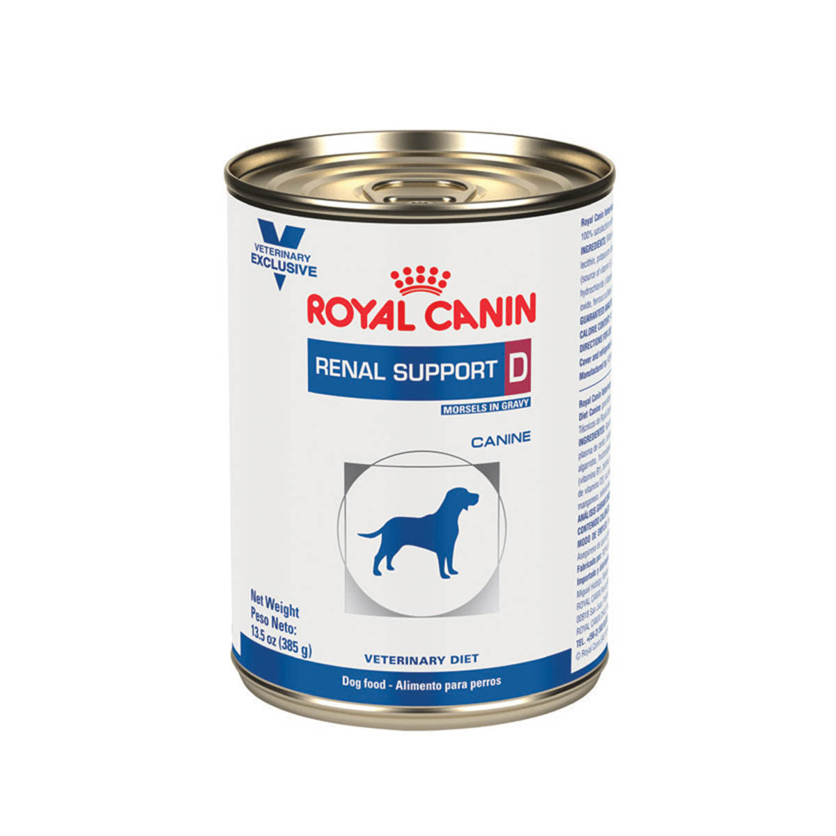Alimento Para Perro Lata Royal Canin Renal Support D MIG Canine 385 g
