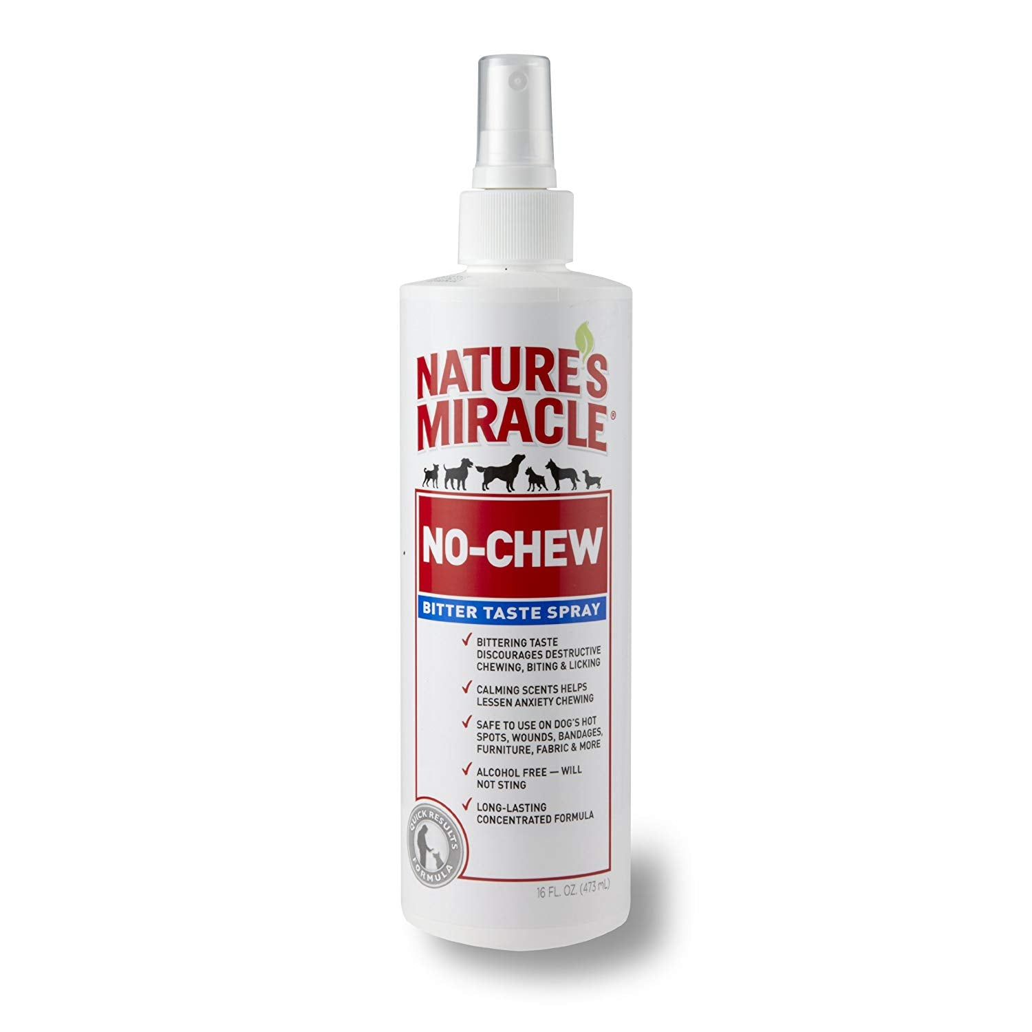 Spray No Chew Bitter Natures Miracle (No Morder) Para Perro 236 Ml