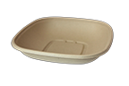 Bowls 32 oz Fiber Square Bowl