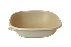 Bowls 48 oz Fiber Square Bowl