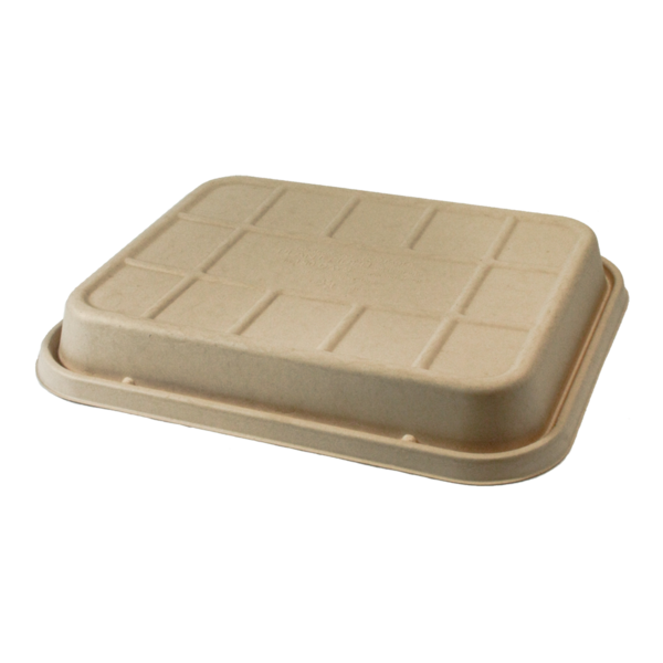 Take Out LID Fiber - Half Size (104 to 120 oz) Catering Pans, Raised
