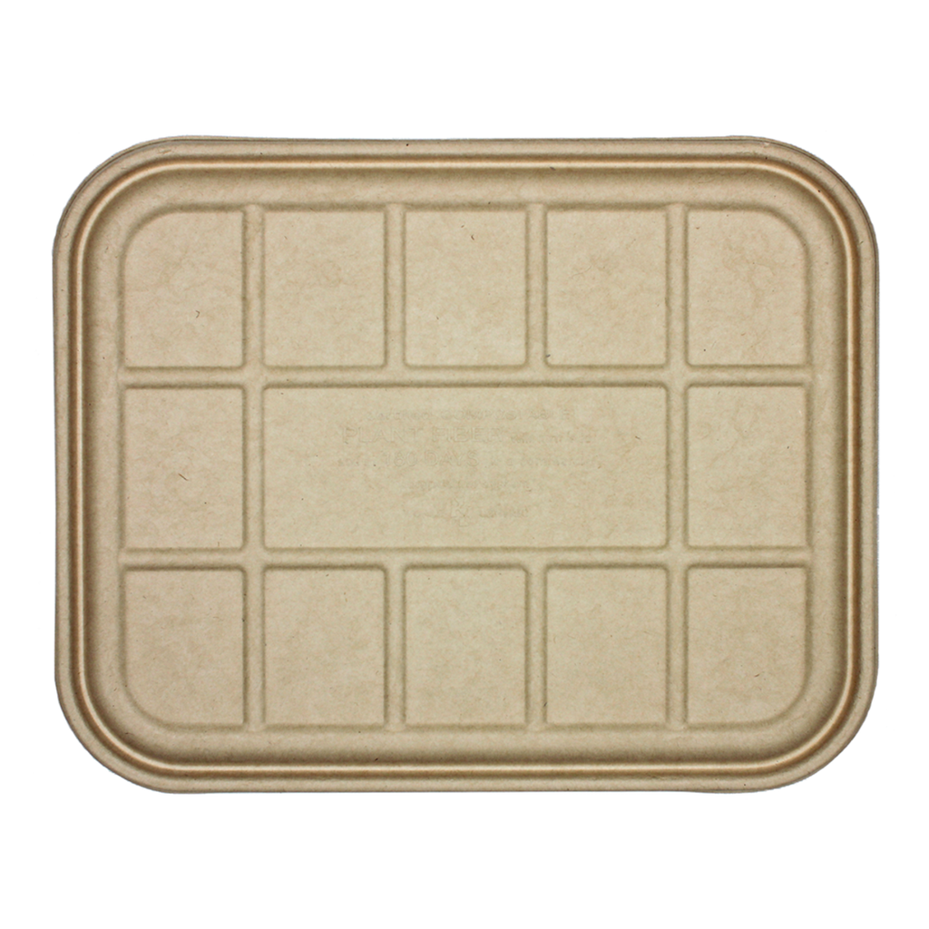 Take Out LID Fiber - Half Size (104 to 120 oz) Catering Pans