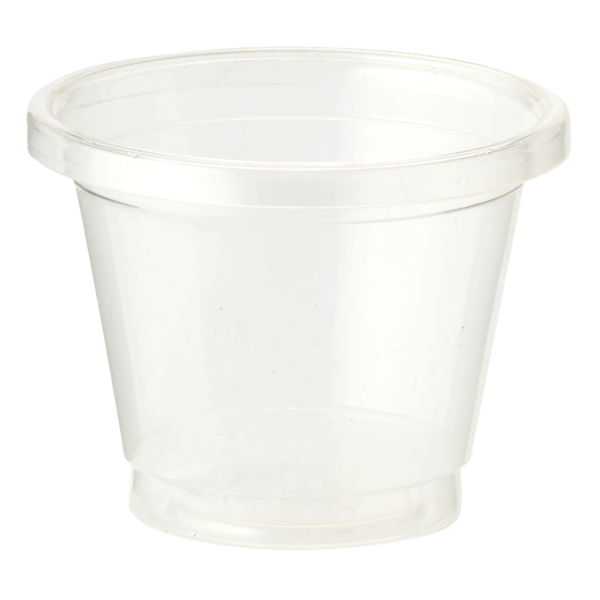 Cups 1 oz Portion Cup, Clear