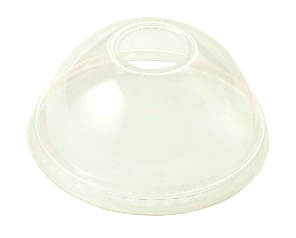 Cups LID PLA - 9Q-24 oz Cold Cups, Dome, Clear